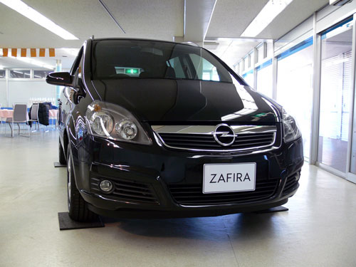 New Zafira Sport