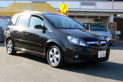 New Zafira Sport with PGS & AFL