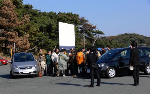 午前の部メンバーの記念撮影風景