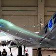 B747-400 の1/8可動模型