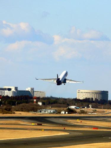 Fedex take-off