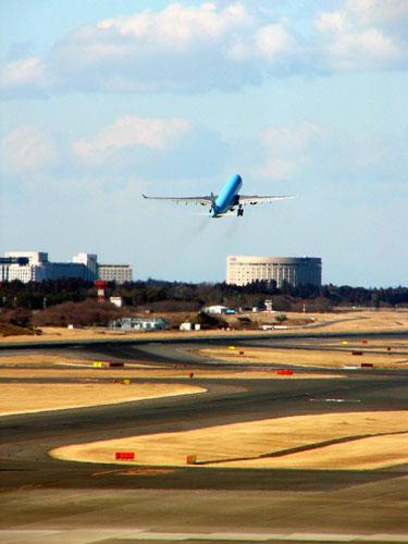 エアボーンした大韓航空