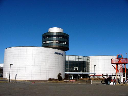 航空科学博物館全景