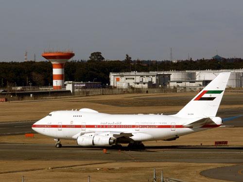 UAE の特別機 B747-SP